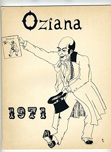 OZIANA 1971 The International Wizard of OX Club FIRST ISSUE