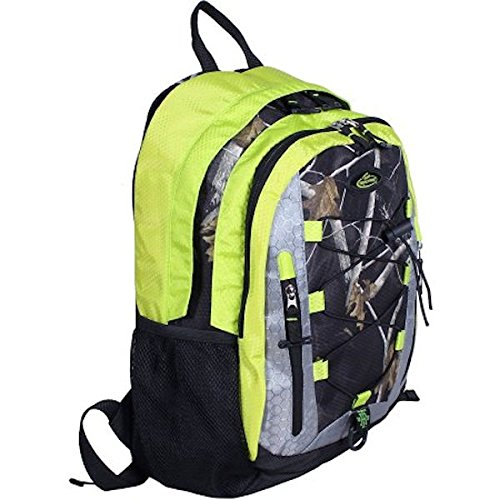 Team Realtree Camo (Team Realtree 2-Section Padded Laptop Backpack (AP Lime))