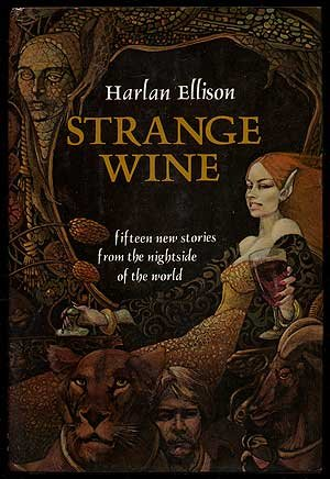 book cover of Strange Wine