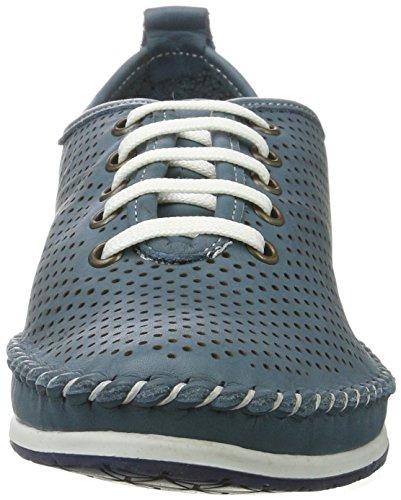 Top Sneakers Low 0023446 Andrea Blau Conti Jeans WoMen gaUwI