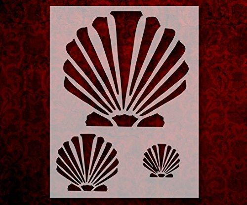 Scallop Beach Seashell Sea Shells Multiple 8.5