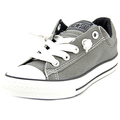 Converse Kid's Chuck Taylor All Star Street Slip Fashion Sneaker Shoe - Charcoal - Boys - 4.5 Converse Chuck Taylor All Star Slip