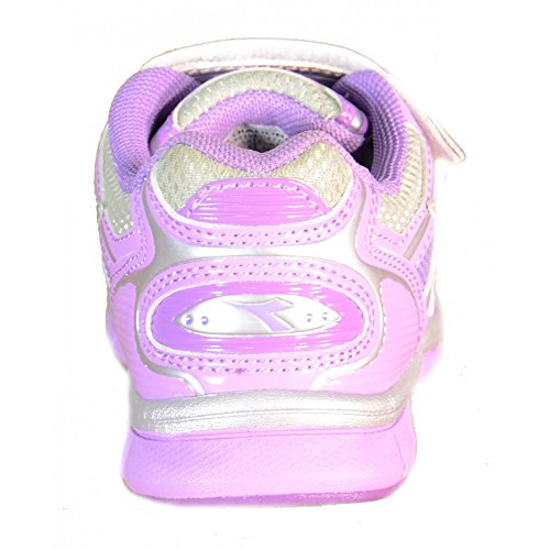 Lila Diadora Kinder Sportschuhe Leder Lila Textil 158394 xY18q0Y6