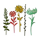 Sizzix 664163 Wildflower Stems #1 Dies One Size Multicolor