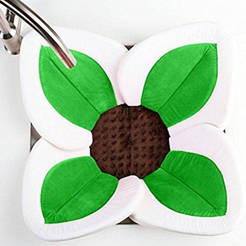 Badewanne Baby,Hunpta Blühende Bad-Blumen-Badewanne für Baby-blühende Wanne Bad für Baby Säugling Lotus Grün