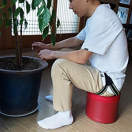 Wearable Work Seat for DIY Garden Stool Ultra Light-Weight Gardening Stool Case Case Only,DIY Product Artificial Leather