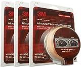 3M Headlight Lens Restoration System - 3 Pack