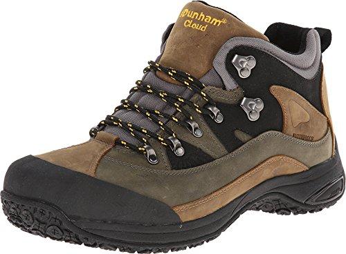 (Dunham Men's Cloud Mid-Cut Waterproof Boot, Grey - 11.5 B(N) US)
