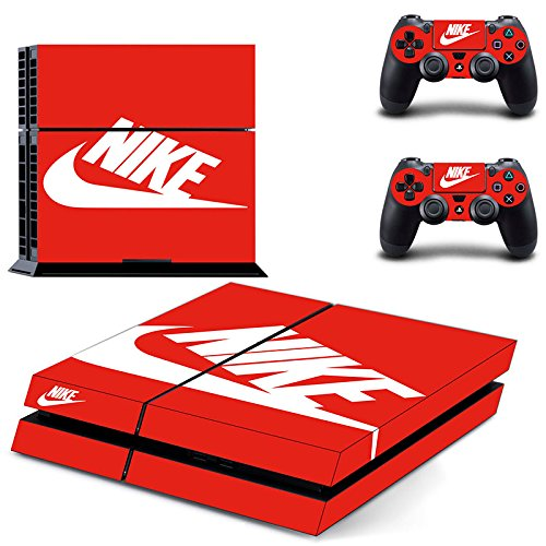 MagicSkin Vinyl Skin Sticker Cover Decal for Playstation 4 PS4 Console and Remote Controllers - Optional Vinyl Cover