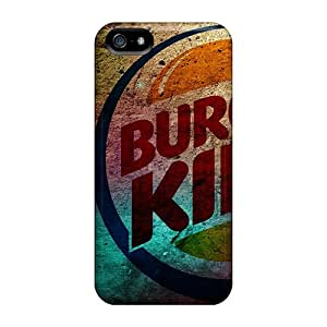 New Design Shatterproof RWyhLZm1583UtaCp Case For Iphone 5/5s (colorful Burger)
