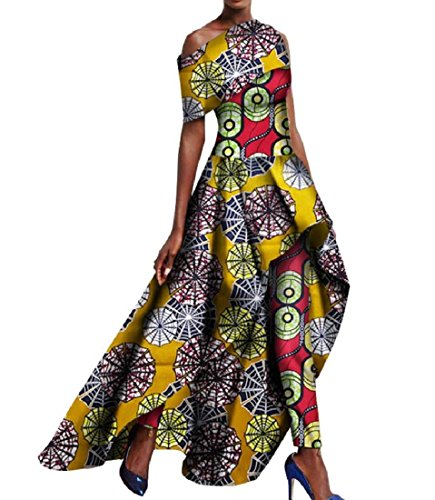 Assymetry Women 2pcs Long Coolred Lenggings Set Dress Print African Pant 13 nTSRBqTx