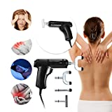 Body Massager- Electric Chiropractic Adjusting Tool Therapy Spine Activator Massager Black KingWo