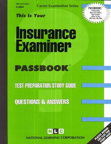 Insurance Examiner(Passbooks) (Career Examination Passbooks) Pdf