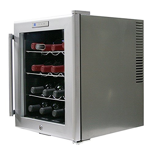 Whynter WC-16S SNO 16 Bottle Wine Cooler, Platinum with Lock by Whynter (Image #4)