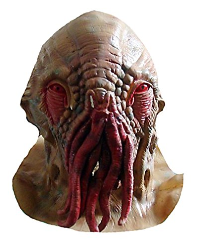 leadershipHalloween Creepy Ood Octopus Head Mask Doctor Who Wode Star Horror Masks -
