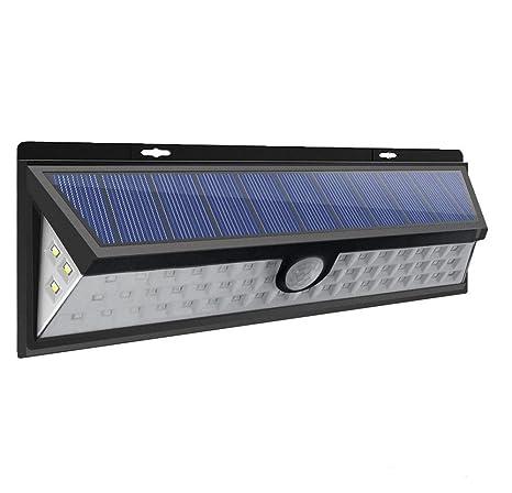 Lámpara de pared de inducción solar _54ledlámpara de inducción solar 54 luz inducción solar amazon ebay