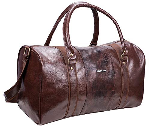 KILLER Polyester 11 inch Travel Duffle (400172830007_Brown)