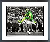 Marcus Mariota Oregon Ducks NCAA Football Action Photo (Size: 12.5'' x 15.5'') Framed