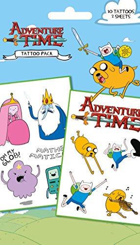 Adventure Time Mathematical Tattoo Pack