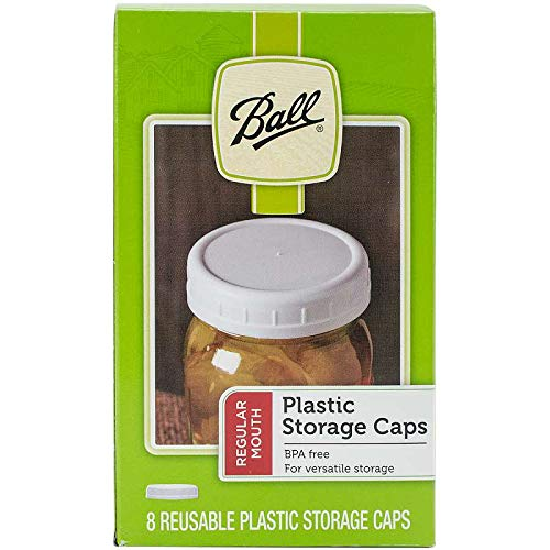 Ball Storage Caps Wide Mouth 8 / Box