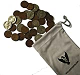 1916 D Mercury Dime Best Deals - The American Classics Coin Bag by Vx Investments. 1 Silver Mercury Dime, 10 Buffalo Nickels, and 20 Wheat Pennies All in A Vx Investments Pouch