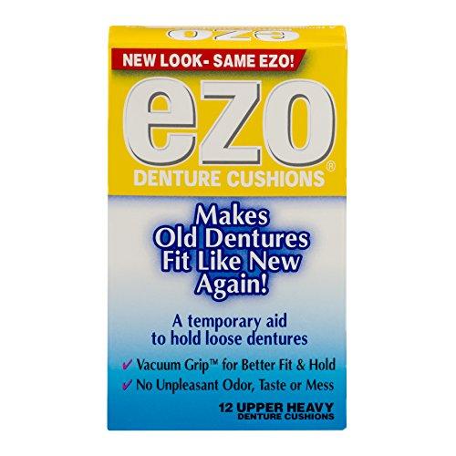 - Ezo Denture Cushions Upper Heavy 12 Each