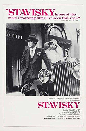Stavisky Broadsheet Movie B (27 x 40 Inches - 69cm x 102cm ) Jean-Paul Belmondo Francois Perier Anny Duperey Michael Lonsdale Roberto Bisacco