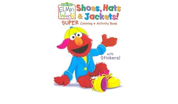 Sesame Street Elmo's World Super Coloring & Activity Book (Sesame
