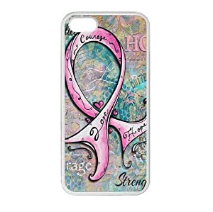 Breast Cancer Awareness Pink Ribbon Apple iphone 6 4.7 or 6 4.7 Plastic and Plastic and TPU (Laser Technology) Durable Case Kimberly Kurzendoerfer