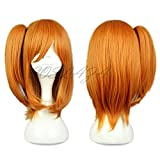 COSPLAZA Anime Cosplay Wigs Orange Party Hair Heat Resistant Synthetic Wig