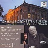 Beethoven : Concerto pour violon Op. 61 - Romances pour violon (Op. 40, Op. 50)