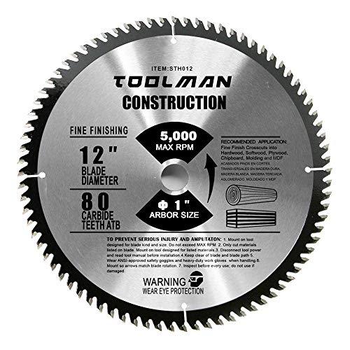Toolman Circular Saw Blade Universal Fit 12