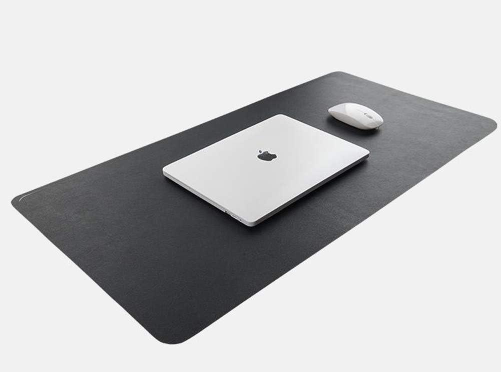 grand tapis pour ordinateur portable anti-rayures pour bureau ou maison 60 * 30cm Vert Sous-main de bureau imperm/éable en cuir PU lisse antid/érapant