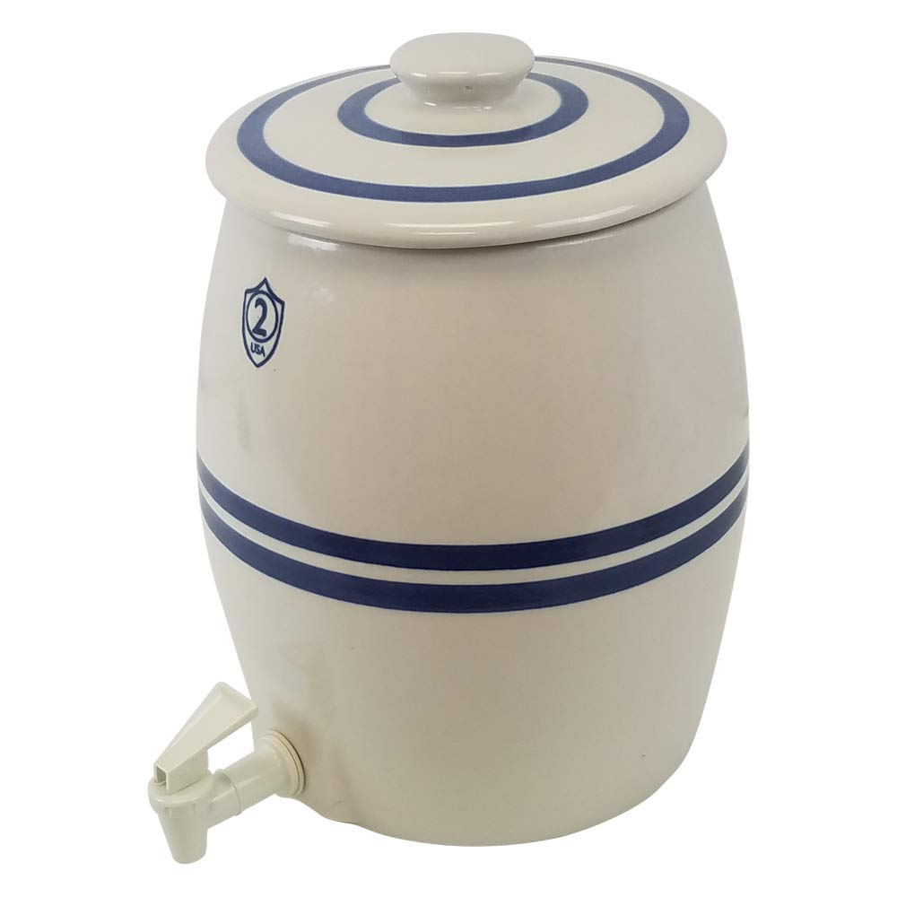 Ohio Stoneware 2 Gallon Kombucha Keg, Lid and Spigot