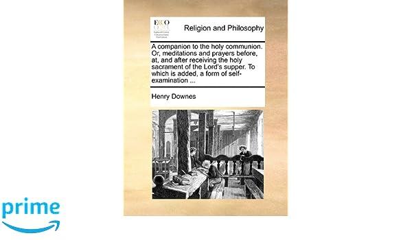 self examination philosophy
