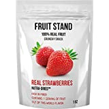 Fruit Stand Real Strawberries, 1 Ounce