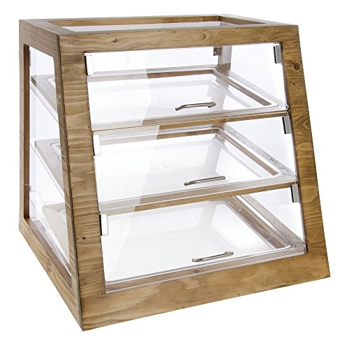 Cal-Mil 3432-S-99 Slanted Display Case, Self Serve, 21.5