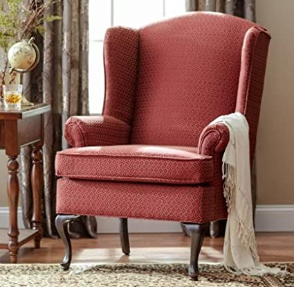 Superbe Upholstered Wingback Chairs