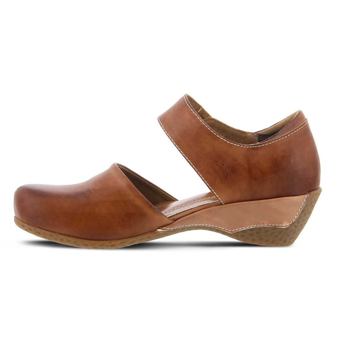 Spring Step Women's Gloss Mary Jane Shoe Brown by Spring Step (Image #2)