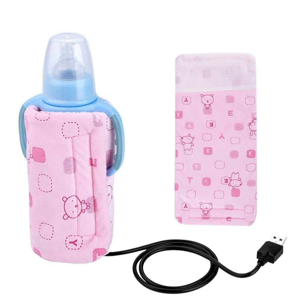 Feeding... Heating Warmer Insulation Bag USB Electronic Baby Bottle Warmer
