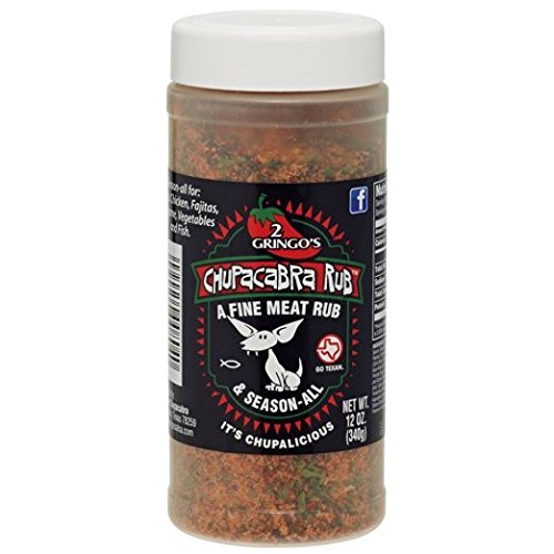 2 Gringos Chupacabra Meat Rub & Season All