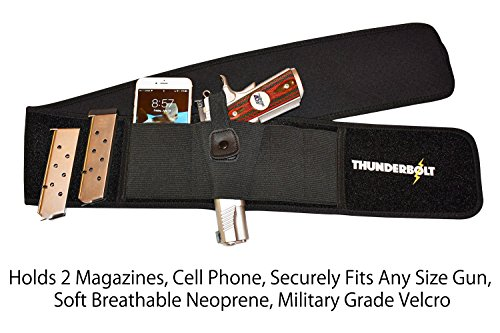 Thunderbolt XL Concealed Carry Belly Band Holster Most Comfortable IWB...