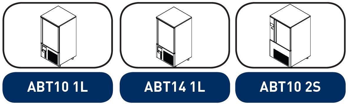 Abatidor y congelador de temperatura Infrico ABT10 1L: Amazon.es ...