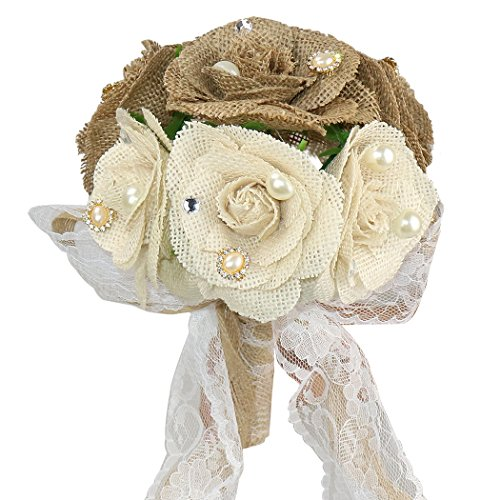 Faylapa-3-Rustic-Wedding-Bouquet-Burlap-Flowers-Bouquets-with-Lace-and-Pearls1-Cards-Heart-Shape-Hessian-Banner-Bunting