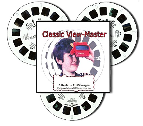 ViewMaster PINOCCHIO - 3 Reels Only - Classic 3D Images 1990s by 3Dstereo ViewMaster (Image #1)