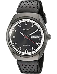 Men's SNKN45 Analog Display Automatic Self Wind Black Watch