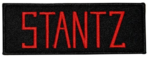 Ghostbusters Stantz Name Tag Iron On Uniform Embroidered Iron On Applique Patch