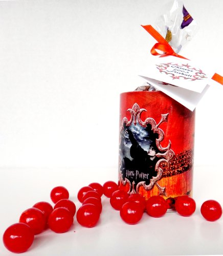Dragon Candy - Harry Potter Chinese Fireball Dragon Egg Candies Packed in a Goblet of Fire Collectible Tin