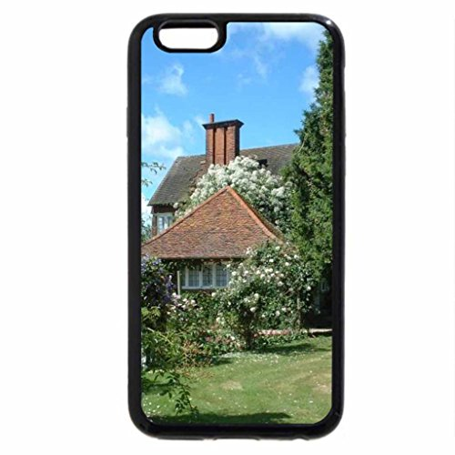 iPhone 6S / iPhone 6 Case (Black) Cottage Blossoms