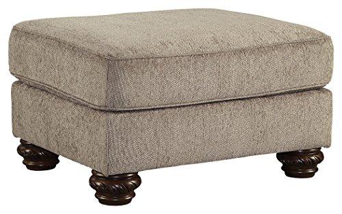 Ashley Furniture Signature Design - Cecilyn Ottoman - Traditional - Cocoa Brown